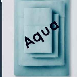 Made by Design Target sheet set twin XL AQUA